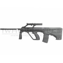 GHK AUG-A2 Gas Blowback Rifle (with Scope - Black)
