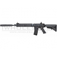 Bolt B4 MK12 MOD 1 with Silencer (Semi auto Only) (Heavy Recoil System - Ret. Stock - Black - 400 FPS)