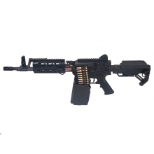Golden Eagle MCR LMG AEG with Electric Drum Mag. M (2600 Rnds - with Battery & Charger - F6670)