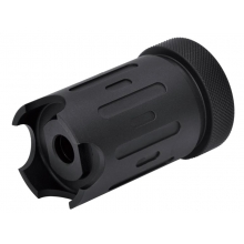 Dytac x Silencer Co Blast Shield Tracer Ready with ACETECH Lighter S Tracer (ZS-FH01-BK)