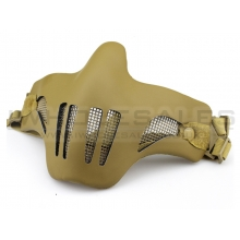 Big Foot V1 Steel with Leather Mud Mask (Tan)