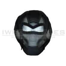 CCCP Full Face Fencing Mask without Eye Protection (Black)