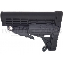 T&D Collapsible Butt Stock  (Black - TD091)