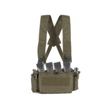 Big Foot D3CRM Chest Rig Vest (with Three Magazine Pouch - OD)