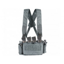 Big Foot D3CRM Chest Rig Vest (with Three Magazine Pouch - Grey)