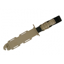 CCCP M4 Rubber Knife with Case and Straps (Tan)