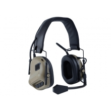 Big Foot Fifth Generation Sound Pickup and Noise Reduction Headset Simulator (Head Wearing - Tan)