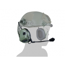 Big Foot Fifth Generation Sound Pickup and Noise Reduction Headset Simulator (Helmet Wearing - OD)