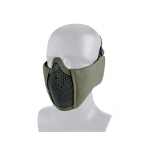 Big Foot Tactical Mesh Half Face Mask (With Ear Protection - OD)