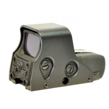 CCCP 551 Scope with Red and Green Holographic Sight (with QD Mount & Cover - Black)